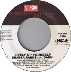 LIVELY UP YOURSELF / VERSION