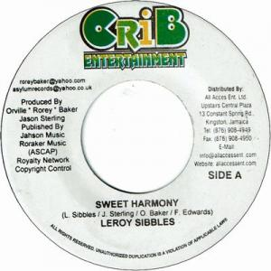 SWEET HARMONY / SKY IS FALLING