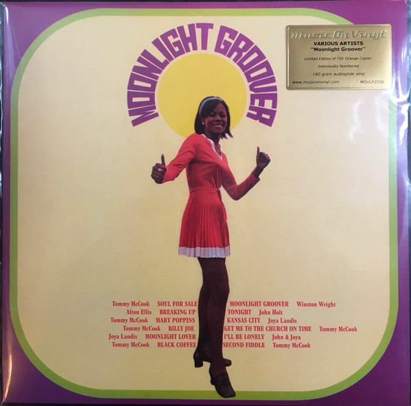 MOONLIGHT GROOVER(Colored Vinyl/180g)