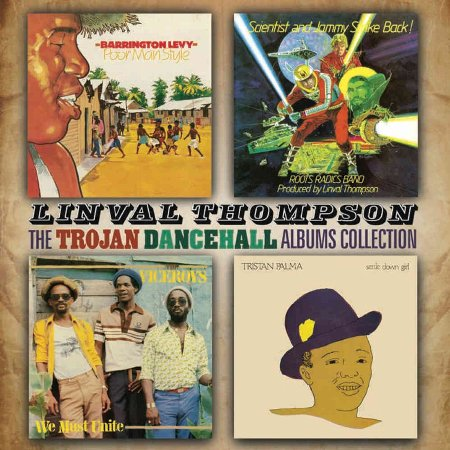 THE LINVAL THOMPSON TROJAN DANCEHALL ALBUMS COLLECTION(2CD)