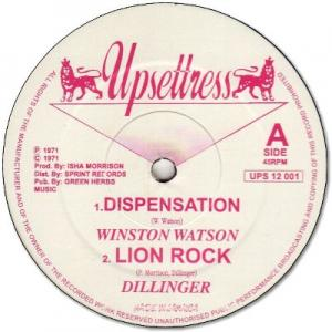 DISPENSATION / LION ROCK