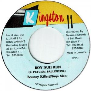 BOY NUH RUN (VG)