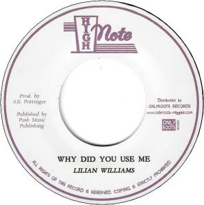 WHY DID YOU USE ME / WHY DUB