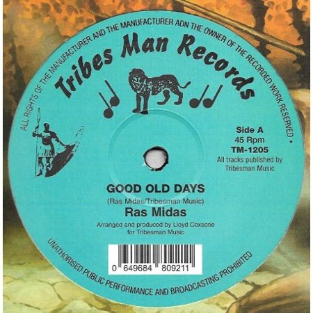 GOOD OLD DAYS / GOOD OLD DUB