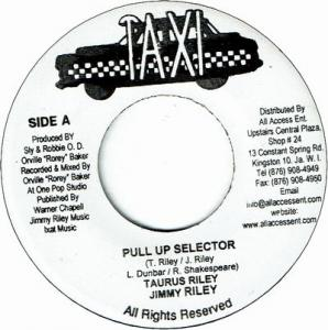 PULL UP SELECTOR (VG+)