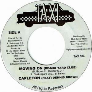 MOVING ON (Remix Yard Club) (VG+) / MOVING ON (Orginal Mix)(VG+)