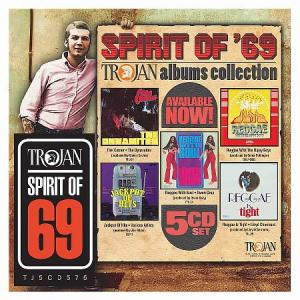 SPIRIT OF '69 : TROJAN Albums Collection(5CD Box Set)