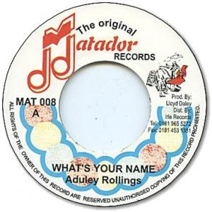 WHAT'S YOUR NAME / VERSION