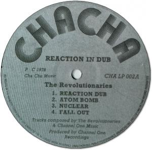 REACTION IN DUB(Plain Sleeve)