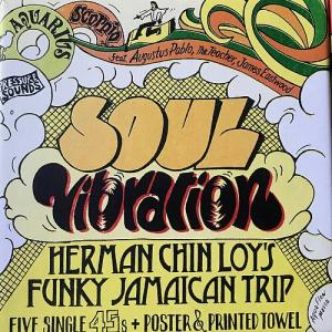 "SOUL VIBRATION : Herman Chin Loy's Funky Jamaican Trip(5x7""+Poster+Towel)"