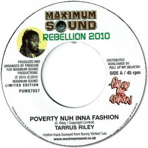 POVERTY NUH INNA FASHION / REBELLION RIDDIM