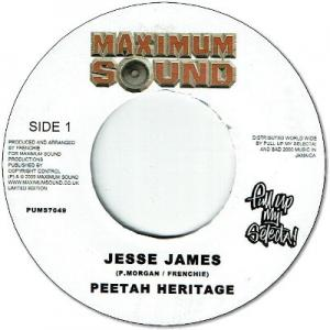 JESSE JAMES / CRYING OUT