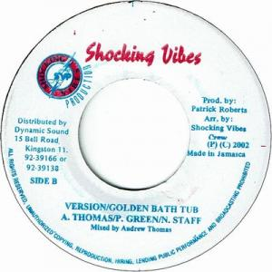"GOLDEN BATH TUB Riddim 6x7"" Set"