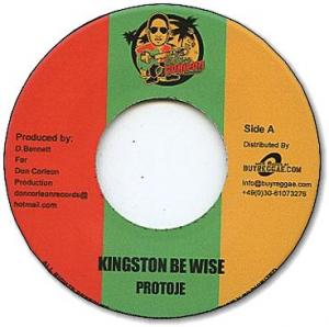KINGSTON BE WISE / Dub Version