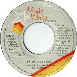 TELEPHONE LOVE (VG+)