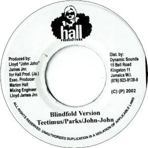 "BLINDFOLD Riddim 3x7"" Set"