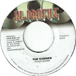 "THE HAMMER Riddim 6x7"" Set"