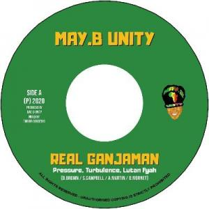 REAL GANJAMAN / FEEL IRIE