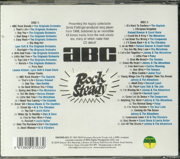 ABC ROCK STEADY(2CD)