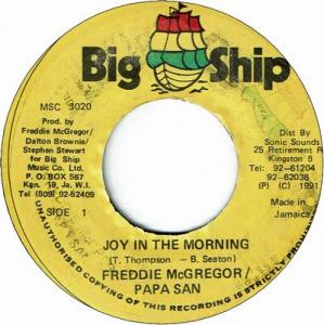 JOY IN THE MORNING(VG+)