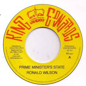 PRIME MINISTER'S STATE / STRANGE COUNTRY