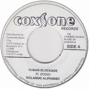 CUBAN BLOCKADE / ONLY YOU
