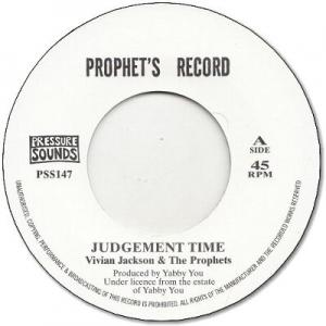 JUDGEMENT TIME / PROPHETS DUB