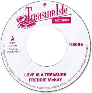LOVE IS A TREASURE / I CAN'T STAND IT