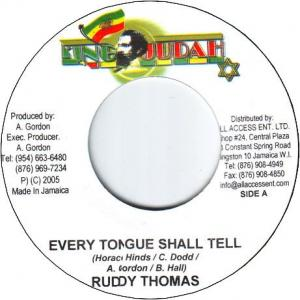 EVERY TONGUE SHALL TELL / LEGISLATION