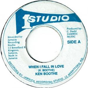 WHEN I FALL IN LOVE (VG+) / VERSION (VG)