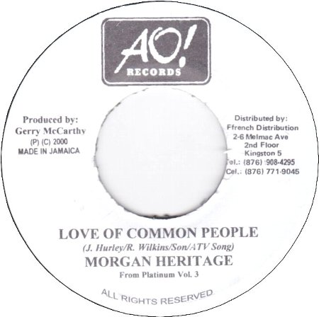 LOVE OF COMMON PEOPLE