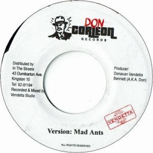 "MAD ANTS Riddim 7x7"" Set"