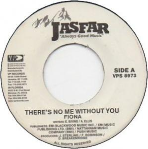 THERE IS NO ME WITHOUT YOU / IT'S ALL IN YOU