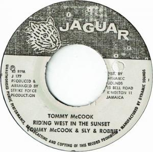 RIDING WEST IN THE SUNSET / TOMMY McCOOK'S FAREWELL