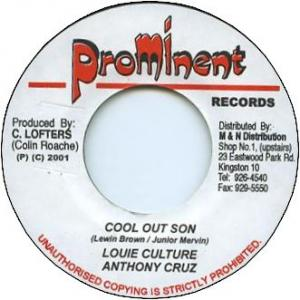 COOL OUT SON (VG) / VERSION (VG)