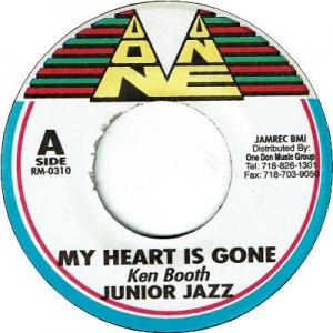 MY HEART IS GONE (VG+) / SEA OF LOVE (VG+)
