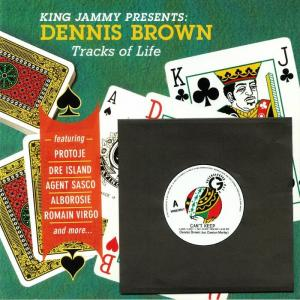 "KING JAMMY presents DENNIS BROWN : TRACKS OF LIFE(LP+7"")"