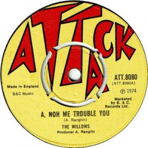 A NOH ME TROUBLE YOU (VG) / VERSION (VG+)