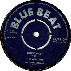ROCK BABY (VG+) / LET'S SING THE BLUES (VG)