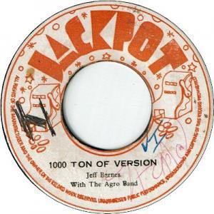 1000 TON OF VERSION (VG+) / WAKE THE NATION (VG)