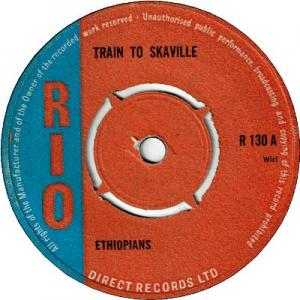 TRAIN TO SKAVILLE (VG+) / YOU ARE THE GIRL (VG- to VG)