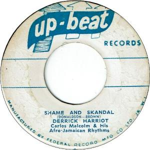 SHAME AND SKANDAL (VG+) / EVERYBODY NEED SOMEBODY (VG)