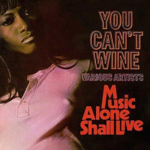 YOU CAN'T WINE / A MUSIC ALONE SHALL LIVE(2CD)