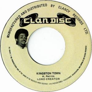 KINGSTON TOWN / HOLY HOLY