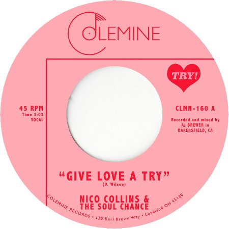 GIVE LOVE A TRY / THE SOUL CHANCE