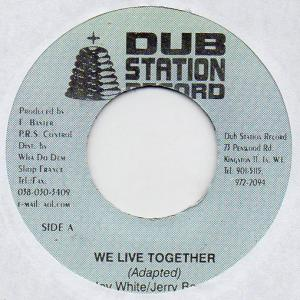 WE LIVE TOGETHER / NATTY DREAD THE BARBER