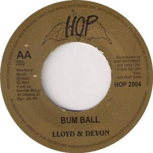 BUM BALL / HOT BOMB