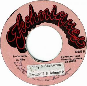 YOUNG & SHE GREEN (VG-)