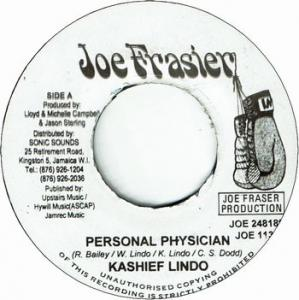 PERSONAL PHYSICIAN (VG+) / VERSION (VG)