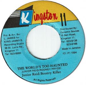 THE WORLD'S TOO HAUNTED